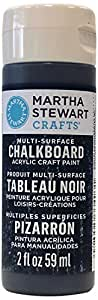 Martha Stewart Crafts Multi-Surface Chalkboard Acrylic Craft Paint in Assorted Colors (2-Ounce), 33493 Arrowhead