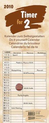 Foto-Malen-Basteln Timer for 2 Lifestyle Terra 2010: Kalender zum Selbstgestalten
