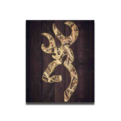 Fan-poster browning camo cool symbol Custom Poster 20*24 inch Wall sticker bedroom decor