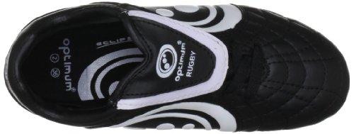 Optimum Eclipse - Zapatillas de rugby Negro/ blanco (Black/ white)