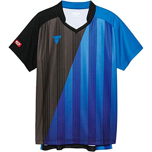 VICTAS(ヴィクタス) VICTAS V‐GS053 ユニセックス ゲームシャツ 31466 BL(ブルー) 2XS スポーツ レジャー スポーツ用品 スポーツウェア 卓球用品 その他の卓球用品 14067381 [並行輸入品] B07KSGYR1M