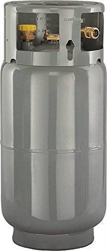Worthington 282077 33-Pound Steel Forklift Cylinder With Gauge And Fill Valve by Worthington