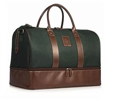 BN Polo Ralph Lauren Green Luggage Travel Holdall Duffle Bag  Amazon.co.uk   Shoes   Bags a3f2bbf4504af