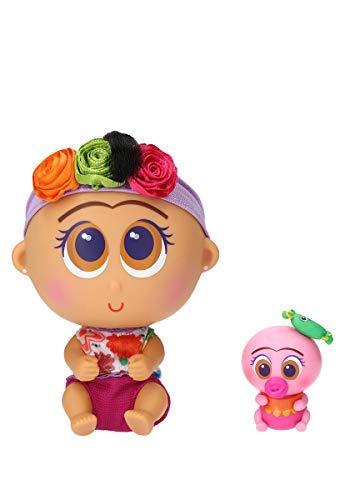 Distroller Nerlie Neonate Baby Frida Kahlo Doll w/ Mini Ksimerito – Special Edition in - Doll Frida Kahlo