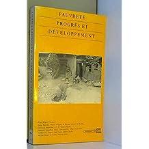 Pauvreté, progrès et développement