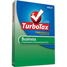 TurboTax Business Federal+ e-File 2010 - [Old Version]