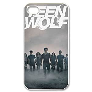 I-Cu-Le Customized Print Teen Wolf Pattern Back Case for iPhone 4/4S