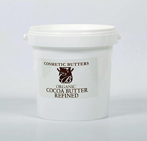 Burro Di Cacao Raffinato Biologico - 100% puro e naturale - 1kg Mystic Moments BUTTCOCOORG1K