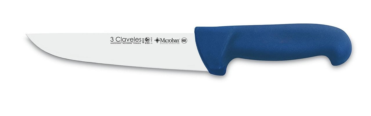 3 claveles Knife Butcher Proflex 18, Stainless Steel, Blue, 31.200000000000003 X 2.5999999999999996 X 1.7000000000000002 cm 8052
