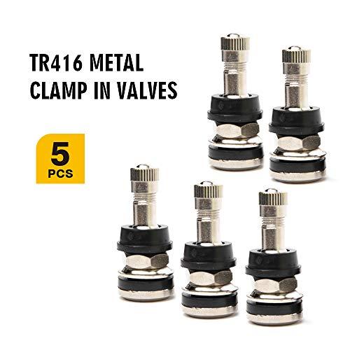 - TQ Pro. TR416 Outer Mount Metal Valve Stem Fits 453
