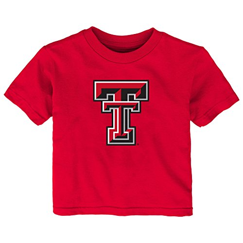 - Gen 2 NCAA Texas Tech Red Raiders Infant Primary Logo Short Sleeve Tee, 12 Months, Red