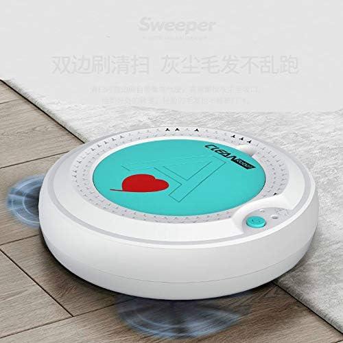 Robot de balayage Robot Vacuum Cleaner Sweep - Moudre humide simultanée pour les planchers durs - Tapis en cours d\'exécution 80 minutes avant automatic Charging Home Ultra Thin