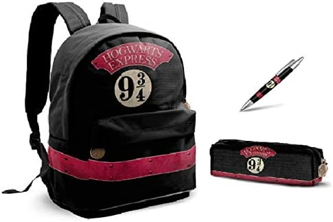Mochila Harry Potter - Hogwarts Express - Estuche para lápices Harry Potter - Hogwarts Express - Harry Potter Pluma - Hogwarts Express: Amazon.es: Equipaje
