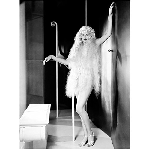 Love Godiva (Lucille Ball 8 x 10 photo I Love Lucy The Lucy Show Here's Lucy B&W Pic Posing as Lady Godiva kn)