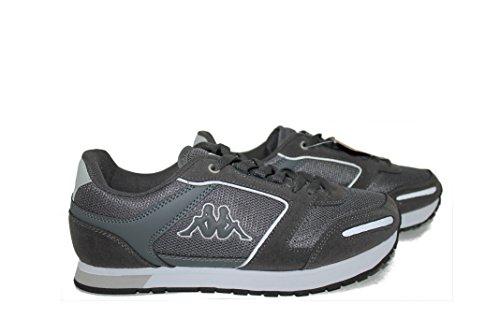 Kappa Footwear Voguera 4 Zapatos de Hombre, Color Gris Claro y Gris Oscuro Grigio Chiaro/Grigio Scuro