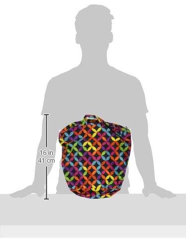 Kanga Care KRWETB_OS-S028 - Bolsas impermeables para pañales sucios, niños, 6-9 meses, color gris Multicolor (Jeweled)