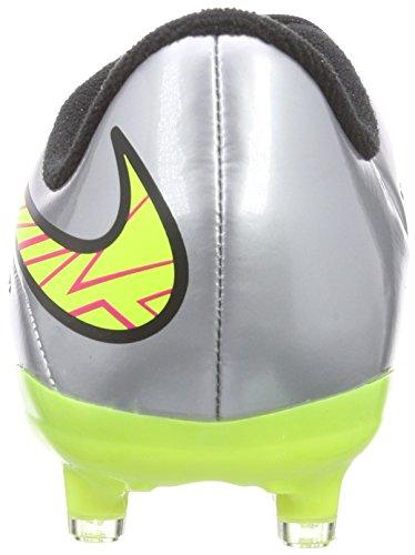 Nike Hypervenom Phelon Premium - Zapatillas de fútbol Niños Grau (Chrome Mtlc Gold Hyper Pink)