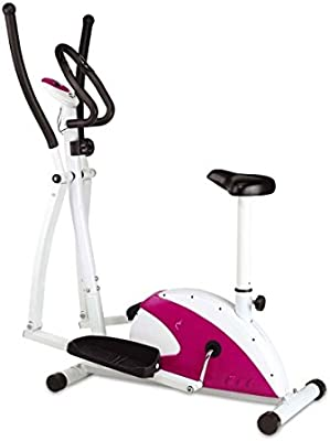 SG-Bicicleta Estática y Eliptica Cross Trainer MP 8kg: Amazon.es ...