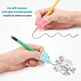 Mlife Pencil Grips - Children Pencil Holder Writing Aid Grip Trainer, Ergonomic Training Pen Grip Posture Correction Tool for Kids