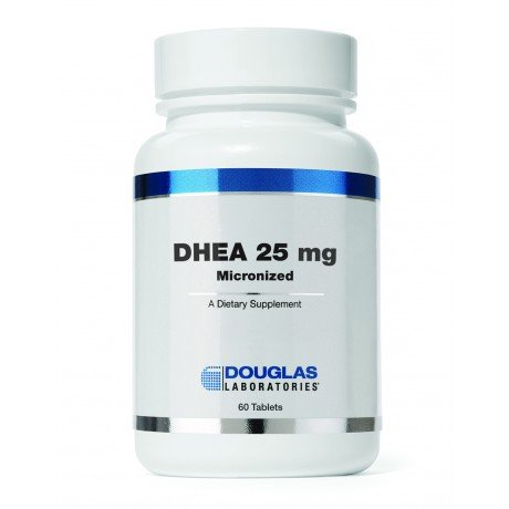 DHEA 25 mg micronisée (60 Tabs) x 4 bouteilles