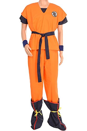 [Cosplaybar Costume Dragon ball Z Son Goku Yamcha Turtle with Boots Cover A Tailor Made] (Bulma Costume)