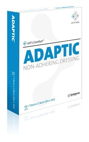 Acelity Non Adherent Dressing Adaptic3 X 3 Sterile (#2012, Sold Per Box) by ADAPTIC ()