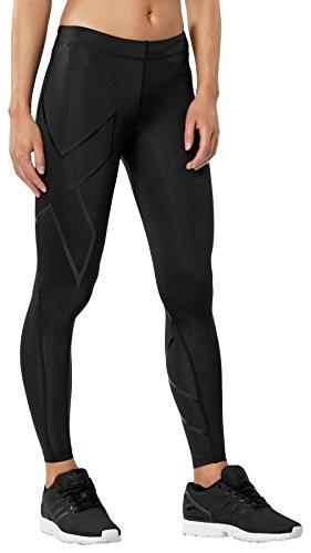 2XU Women's Core Compression Tights, Black/Nero, Small