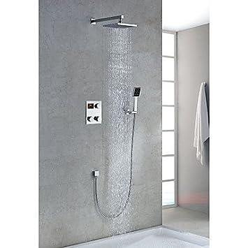 Thermostat, Kopfbrause und Handbrause Spatz-Wasserhahn, abschließbar ...