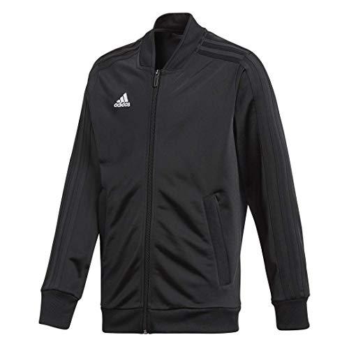 adidas Condivo18 Polyester Jacket Youth, Black/White, Medium