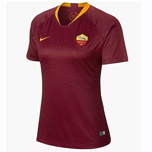 NIKE 2018-2019 Roma Home Ladies Football Soccer T-Shirt ()
