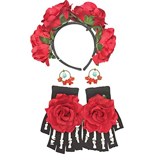 Forum Novelties Day of the Dead Female Costume Accessory Kit for $<!--$14.00-->