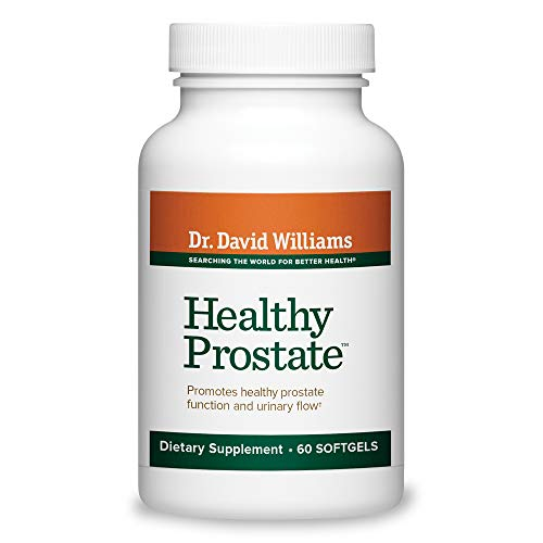 Dr. David Williams' Healthy Prostate Supplement Supports Normal Urinary Function and Flow, 60 softgels (30-day supply) by Dr. David Williams (Image #8)
