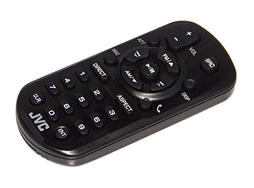 OEM JVC Remote Control Originally Shipped With: KWM730BT, KW-M730BT, KWV11, KW-V11, KWV120BT, KW-V120BT