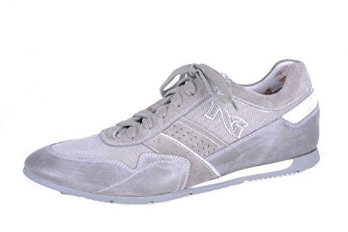 Nero , Herren Sneaker Grau Grey Grey