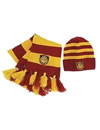 Harry Potter Officially Licensed Hogwart's Knit Hat Scarf
