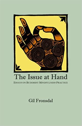 the issue at hand essays on buddhist mindfulness practice gil  the issue at hand essays on buddhist mindfulness practice gil fronsdal 9780615162867 amazon com books