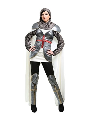 Women's Joan of Arc Costume Large Gray