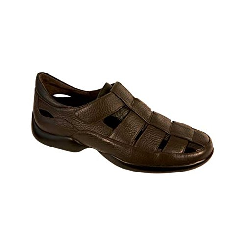 Aetrex Men's G100 Fisherman Sandal,Brown,7 XW (Aetrex Mens Dress)
