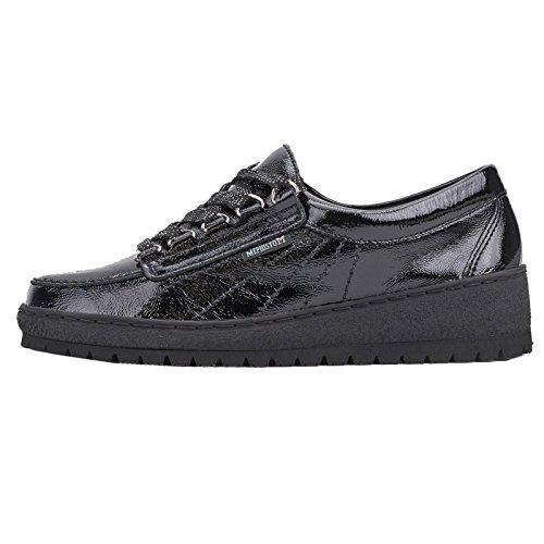 Mephisto Lady Patent Black Womens Shoes Black