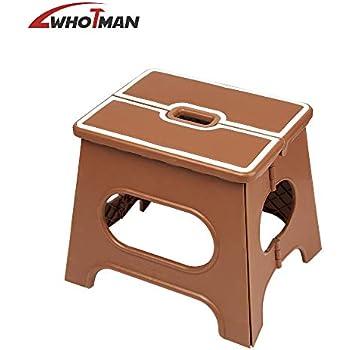 Amazon Com Folding Step Stool Wothman Portable
