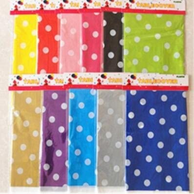 wope njucy desechables de mantel de plástico con puntos – Mantel ...