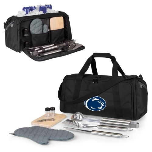 PICNIC TIME NCAA Penn State Nittany Lions BBQ Kit Cooler Tote with Barbecue & Accessories