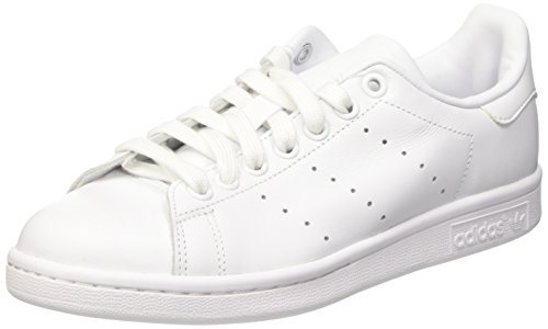 a29347d6396 Galleon - Adidas Stan Smith Unisex Trainers White White - 12 UK