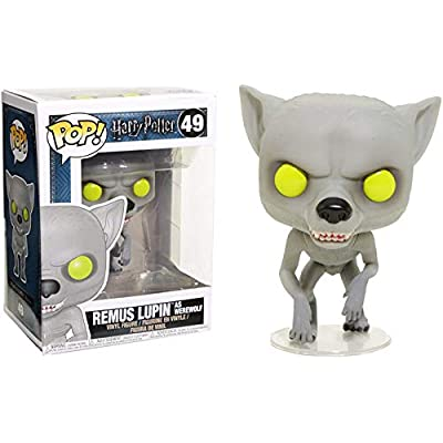 Funko Pop Movies: Harry Potter - Remus Lupin as Werewolf Collectible Figure, Multicolor: Toys & Games
