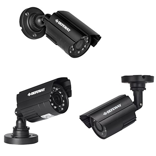 DEFEWAY 16 Channel Security Camera System,12pcs 720p Outdoor IR Camera with 16ch audio-support DVR,2TB Hard Drive included by Defeway (Image #2)