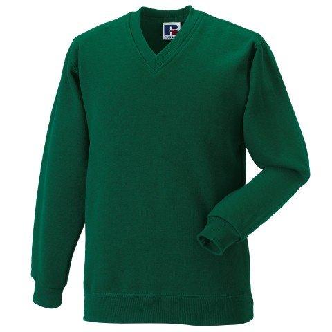 Russell Athletic V-Neck Sweatshirt - 8