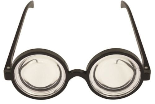 e5046a18a21 Round Glasses Goggles Minion Fancy Dress Accessory One Size  Amazon ...