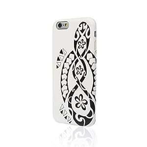 Aiino - Tattoo Turtle Case iPhone 6 - White