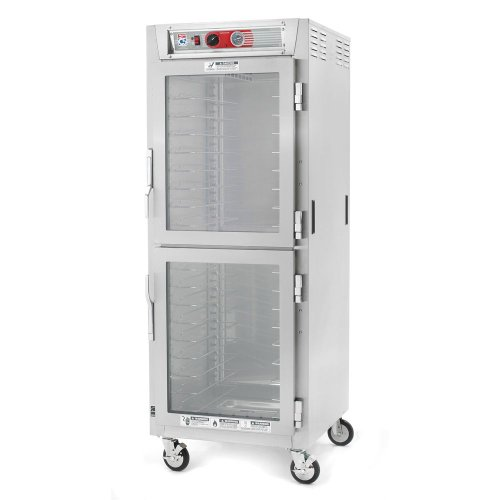 Metro Full C5 6 Heated Holding Mobile Insulated Cabinet