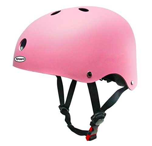 Zjoygoo 2018 Bicycle Cycling Street Kids Safety Pink Bike Helmets Protective Gear for Toddler Child Children,Outdoor Sports Safety Firm Kids Helmet for Boys Girls Student Pupil Age 3-5 6-8 -